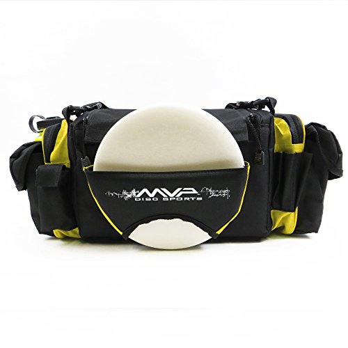 MVP Nucleus Tournament Disc Golf Bag - Yellow