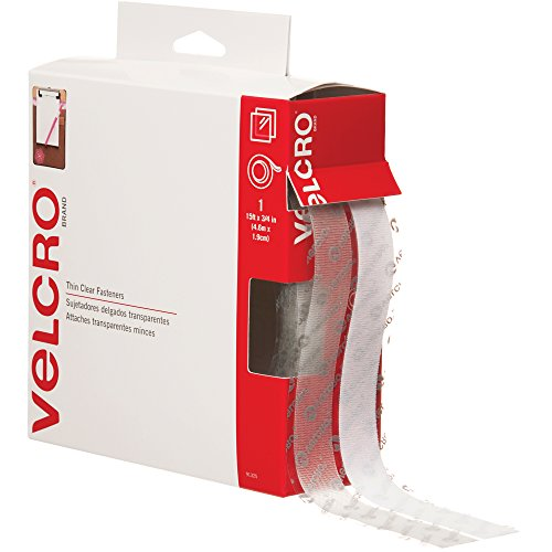 (Velcro VEL150 Hook and Loop Tape Combo Pack, 15' Length x 3/4