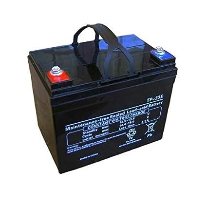 Pro-Kaddy Bateria-para-carro-de-golf-12v-33amp
