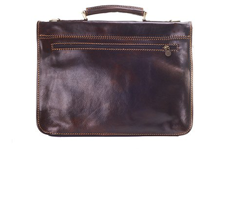 Timmari-''Myrtle'' Italian Leather Messenger Bag