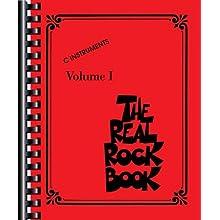The Real Rock Book: C Instruments Vol. 1