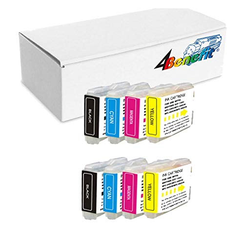 Generic Compatible Ink Cartridge Replacement for Brother LC-51 ( 2Sets , 8-Pack - Lc51 Ink Compatible Brother
