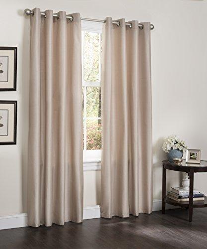 (Kashi Home Erin Collection Window Treatment / Panel / Curtain, 55
