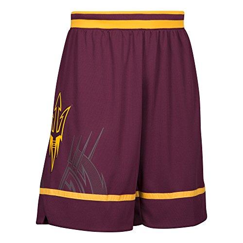 NCAA Arizona State Sun Devils Replica Shorts, Large, Maroon