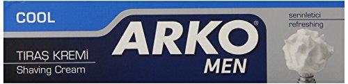 Arko Shaving Cream, Cool, 6 Ounce -