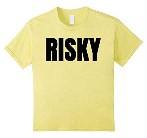 Kids Risky TShirt T Shirt T-Shirt Tee Shirt Clothes Costumes 8 (Risky Business Costumes Girl)