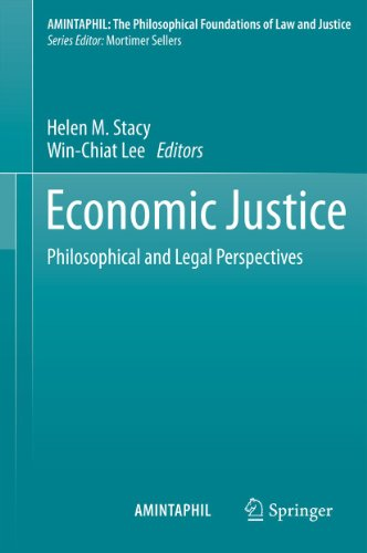 Download Economic Justice: Philosophical and Legal Perspectives: 4 (AMINTAPHIL: The Philosophical Foundations of Law and Justice) Pdf