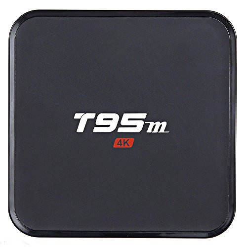 Areware T95M Android 6.0 Google Internet Tv Box With S905X Quad Core 64Bit 1GB 8GB 2.4GHz WiFi Support 4K HD