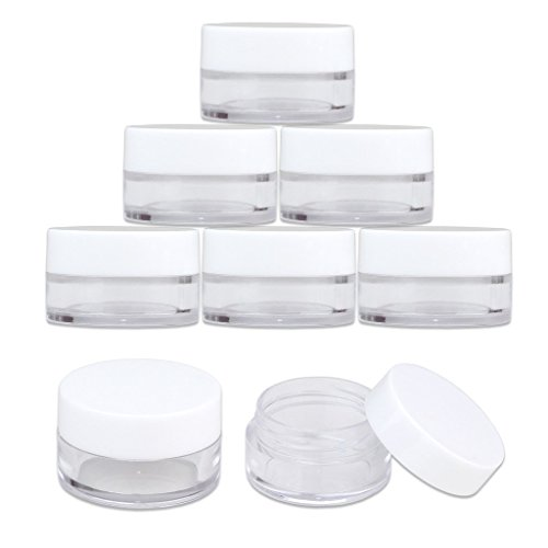 25 Jars - Beauticom High-Graded 5 Grams/5 mL BPA Free Thick