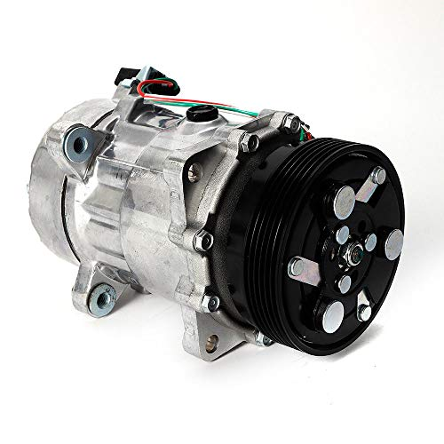 Yiyiby Air Conditioning Compressor Interior Heating Engine Compressor Car Replacement Air Conditioner Compressor: