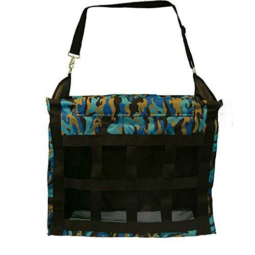 (Intrepid International Deluxe Top Load Hay Bag Blue Camo)