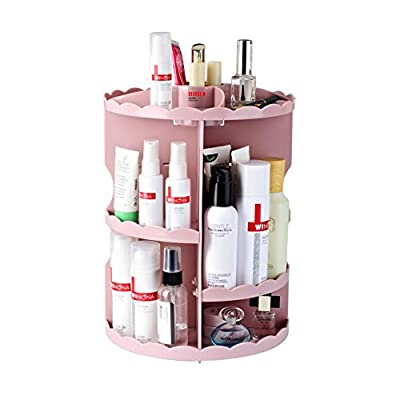 Boxing 360 Rotating Makeup Organizer Fits Cosmetics and Accessories -  - organizers, bathroom-accessories, bathroom - 41 IgYcqgnL. SS400  -