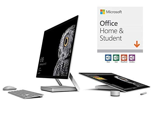 Microsoft Surface Studio Commercial (1st Gen) (Intel Core i7, 32GB RAM, 2TB) with Office Home & Student 2019 (Renewed) ()