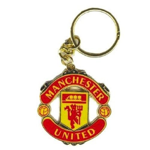Manchester United Supporter (Manchester United Fc Keyring - Crest - Football Gifts)