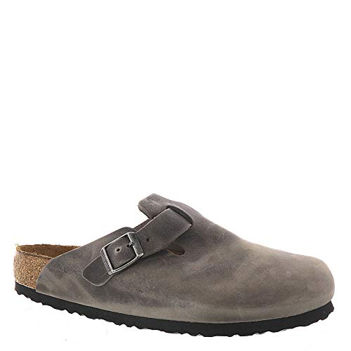f6b29df71719 Galleon - Birkenstock Boston Soft Footbed Iron Oiled Leather Clogs 40 (US  Women s 9-9.5)