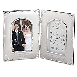 Things Remembered Personalized Forever Yours Frame Clock with Engraving Included