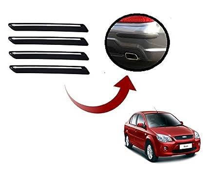 Auto Hub Car Bumper Guard Protector For Ford Ikon Black Amazon In