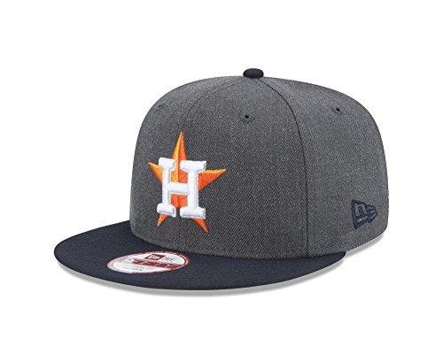 MLB Houston Astros Heather 9Fifty Snapback Cap, One Size, Graphite (Houston Astros Apparel)