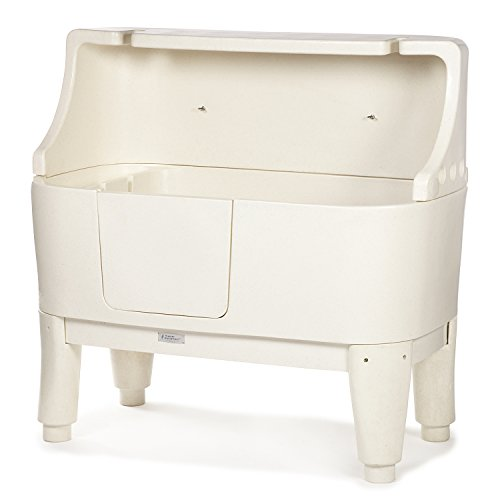 Master Equipment Encompass Grooming Tub, Ivory