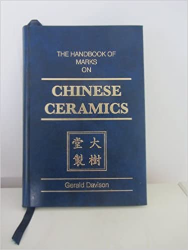 The Handbook Of Marks On Chinese Ceramics English And Chinese