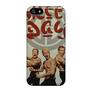Marycase88 Iphone 5/5s Shock Absorbent Hard Cell-phone Cases Allow Personal Design Realistic Green Day Image [wLh5233MimU]