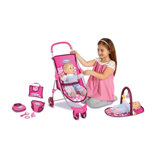 Travel Graco Doll - Graco Just Like Mom Starter Playset
