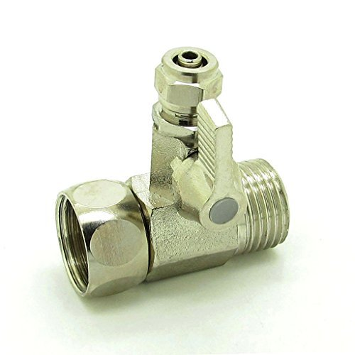 Water Adapter Ball Valve Faucet Tap Feed Reverse Osmosis (Feed Valve)