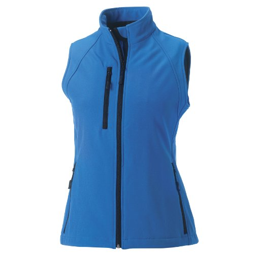 Azul Russell Shel modelo para Celeste transpirable Soft mujer Chaleco rqrnxTO0