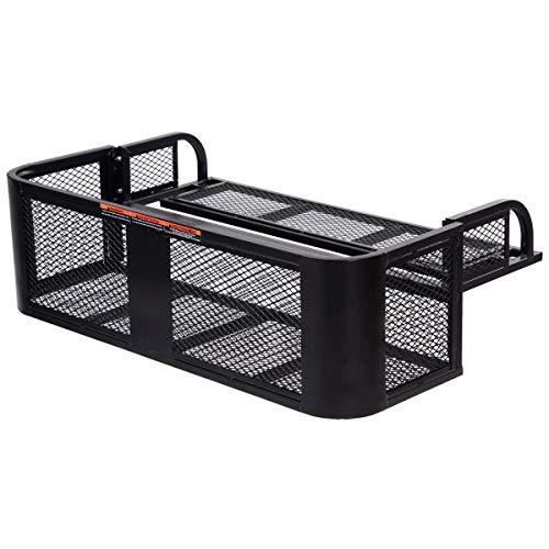 ATV UTV Universal Steel Cargo Hunting Rear Drop Basket Rack Universal Front Set by USA_BEST_SELLER (Image #5)