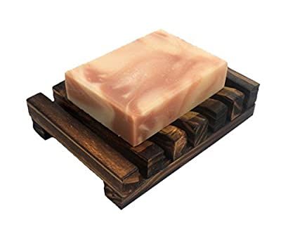 Onwon Hawaii Style Bathroom Accessories Handmade Natural Wood Soap Dish Wooden Soap Holder from Onwon