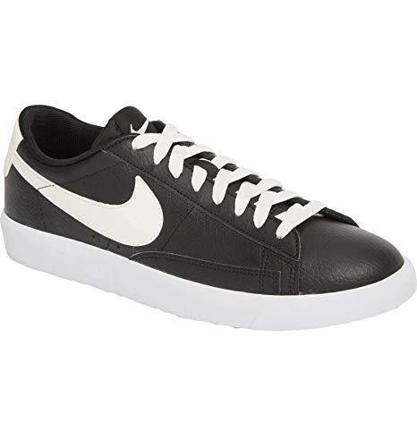 Nike Blazer Low Leather Shoes ( Black / Sail-gum Medium Brown, Size 10 M US) (Nike Leather Blazer)