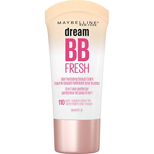 Amazon Com Maybelline Dream Fresh Bb Cream Light Medium 1 Ounce Packaging May Vary Beauty