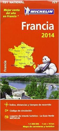 Ebook para kindle descargar gratis Mapa National. Francia 2014 (Mapas National Michelin) PDF ePub MOBI