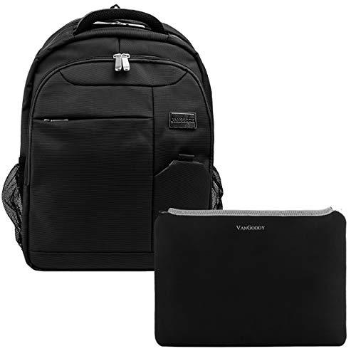 Vangoddy Germini School Backpack and Neoprene Smart Sleeve B