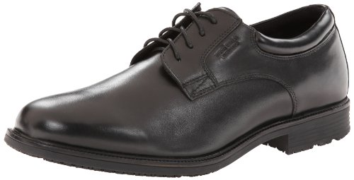 Rockport Men's Essential Details WP Plain Oxford-Black-8 W