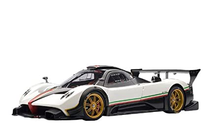 Amazon Com Pagani Zonda R White Italian Stripe Toys Games