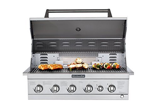 kitchenaid built in gas grill - 1