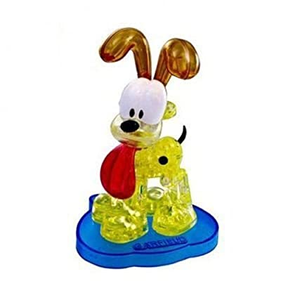 crystal puzzle HCM59163 Crystal Odie Puzzle Game: Toys & Games