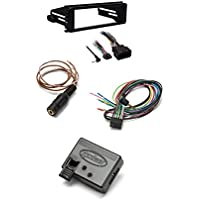 Metra 99-9600 Stereo Installation Kit for Select 1998-2013 Harley Davidson Motorcycles +Metra Axxess ASWC-1 Universal Steering Wheel Control Interface