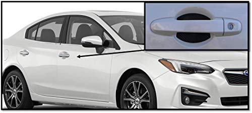 Door Handle Trim Magnetic Door Cup Paint Scratch Protector Cover Accessories for 2017-2018 Subaru Legacy(4 Pcs) Made in USA