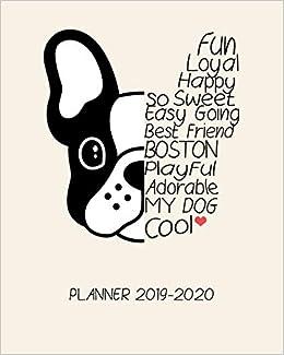 Best Of Boston 2020.Planner 2019 2020 18 Month Academic Planner Daily Schedule