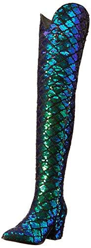 Michael Antonio Women's Wanda Western Boot, Mermaid, 7.5 W US