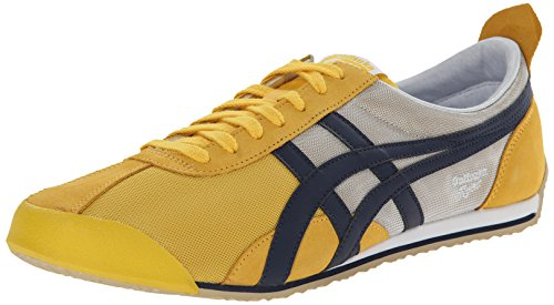 new arrival 5f261 58f19 Onitsuka Tiger Fencing Classic Fencing Shoe, Yellow/Navy, 12 ...