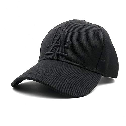 CGXBZA New Letter Baseball Caps La Dodgers Embroidery Hip Hop Bone Hats for Men Women Adjustable
