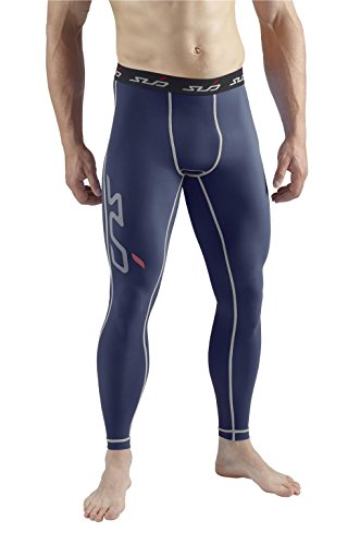 Sub Sports Mens Compression Leggings Tights Running Layer Sweat Wicking -L