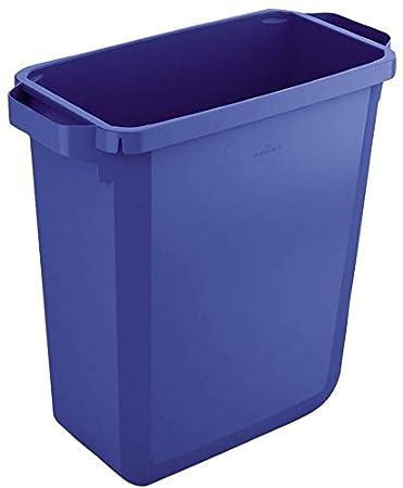 Blue Durable Durabin Rectangular Bin 60 Litre