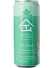 Authentic Tea House Yin Hao Unsweetened Jasmine Green Tea, 12 x 300ml