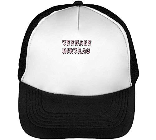 Teenage Dirtbag Gorras Hombre Snapback Beisbol Negro Blanco