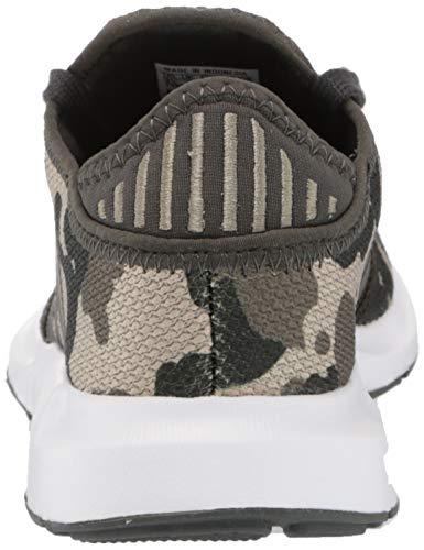 adidas Originals Men's Swift Essential Sneaker, Grey/Ink/Legacy Blue, 13.5