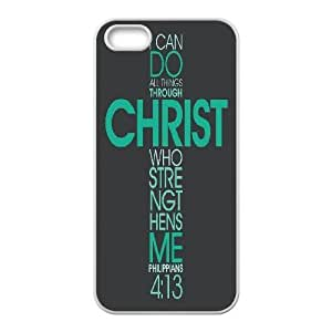 Bible Philippians Series, Case For HTC One M8 Cover Case, Favorite Bible Verse Philippians Case For HTC One M8 Cover [White]